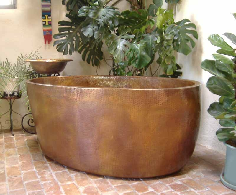 Copper Bathtub Copper Soaking Tub Custom Copper Bathtub Amaia