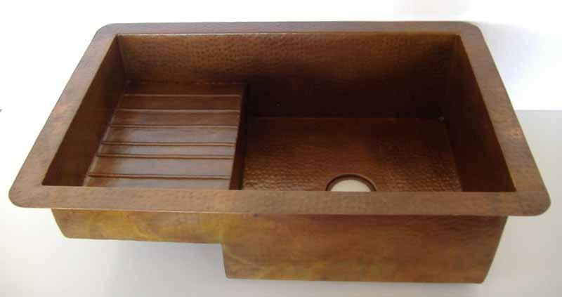 Copper Kitchen Sink Undermount Amelia