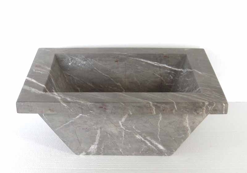 Rectangular Stone Vanity Sink | Rectangular Marble Sink | Rectangular Stone Bathroom Sink - Arista