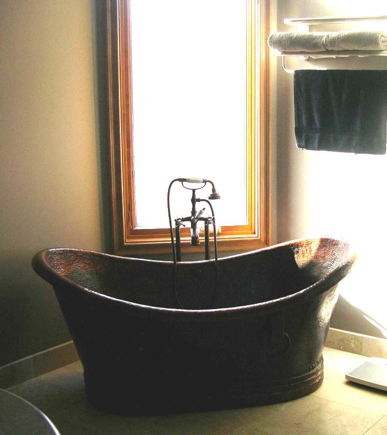 Client Gallery - Copper Bath Tub | Oval Copper Sink
