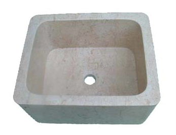 Stone Bar Sink | Stone Vegetable Prep Sink | Stone RV Sink - Irene