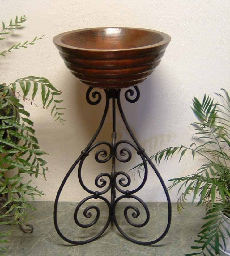 Ornamental Iron Sink Stand U0027Topu0027 Mount Prices Start At $447