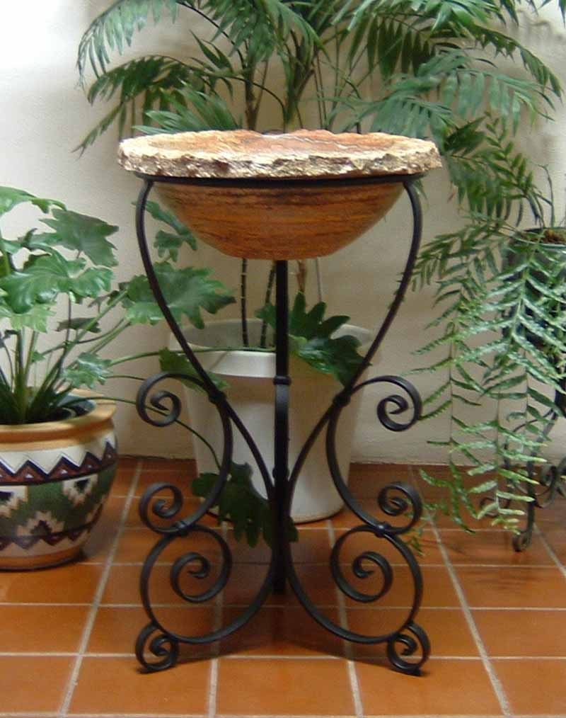 Charmant Ornamental Iron Vessel Sink Stand   Pepe ...