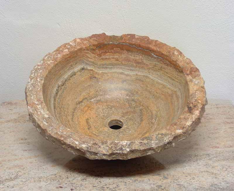 Stones In Sink : Natural Stone Vanity Sink Travertine Sink Marble Sink Onyx Sink ...