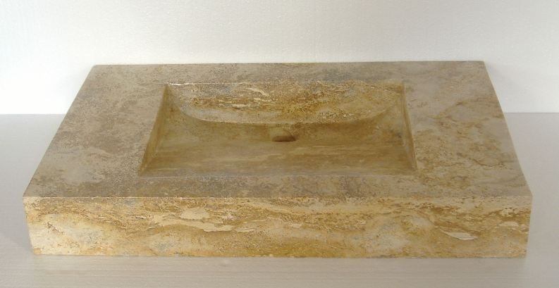 Stone Vanity Basin : ... Rectangular Stone Vessel Sinks Rectangular Stone Vanity Sinks
