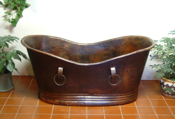 Copper Bath Tub | Copper Soaking Tub | Custom Copper Bathtub - Tina
